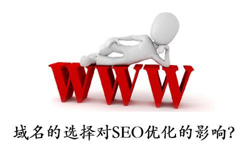网站域名的选择对SEO优化排名有什么样的影响?