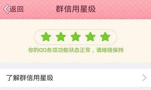 QQ营销之什么是QQ群信用星级,到底有什么用?
