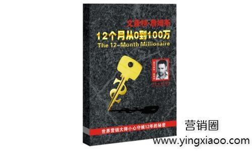 《12个月从0到100万》PDF高清完整版电子书文森特·詹姆斯著免费下载